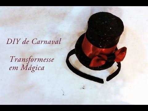 Feitiço de Carnaval. DIY Fantasia de Mágica