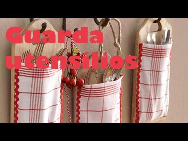 Artesanato para cozinha | Guarda utensílios - Artesanato minuto