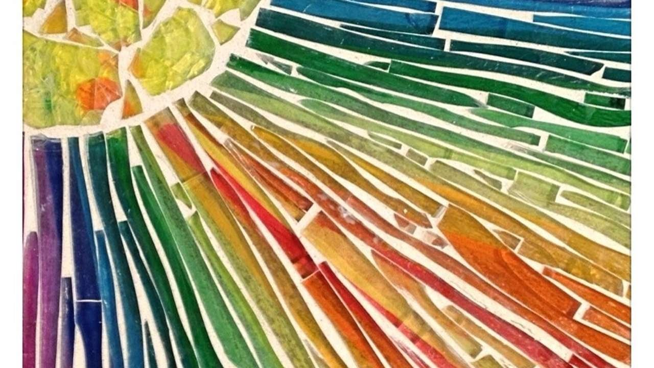 Crie Um Excepcional Mosaico de Vidro - Faça Você Mesmo Artesanato - Guidecentral