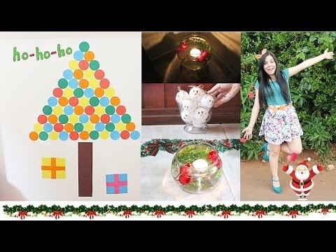 Diy: 3 Decorações de Natal Super Fáceis - Faça Você Mesma