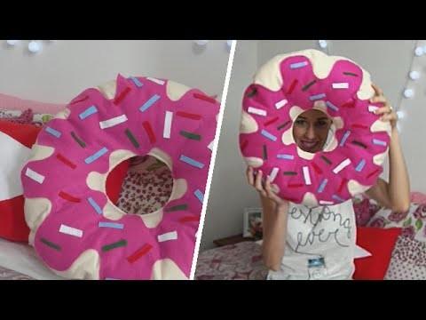 DIY -  Almofada de Donuts