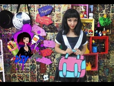 DIY - Cartoon Bag