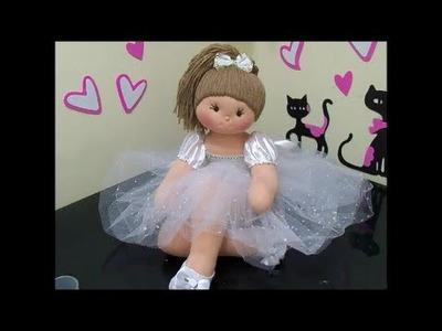 Diy -Como fazer bailarina de pano