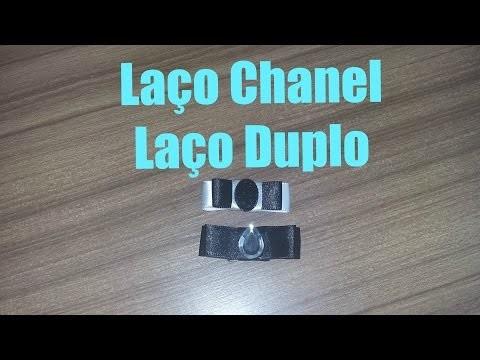 DIY: Como Fazer Laço Chanel | laço Duplo - Lace Chanel | Double loop