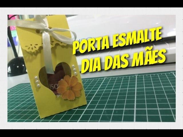 DIY | como fazer Porta esmalte - Dia das mães - passo a passo
