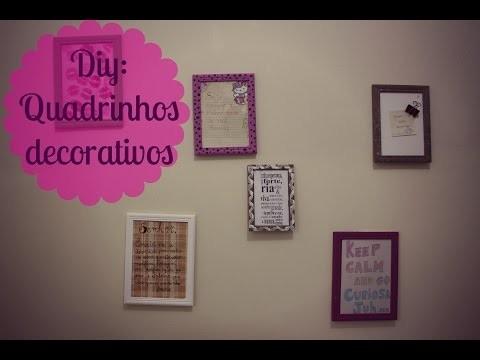 Diy: Decor com quadrinhos por menos de 15 reais #AgostoTodoDia Veda 22