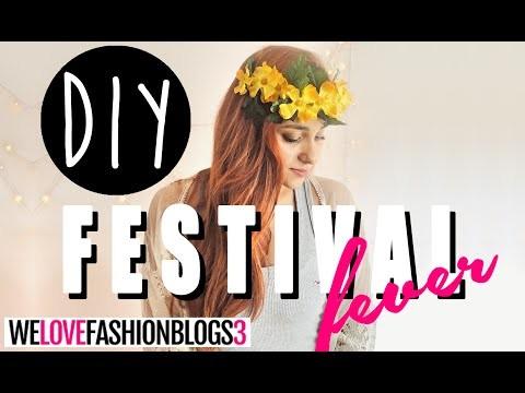 DIY.FAÇA VOCÊ MESMO: FESTIVAL FEVER + WE LOVE FASHION BLOGS - O Blog da Ka ♥