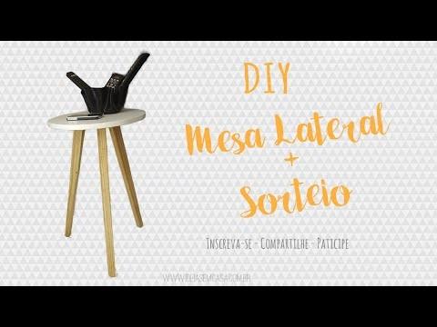 DIY I Mesa lateral + Sorteio