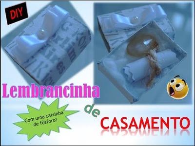 DIY - LEMBRANCINHA DE CASAMENTO COM CAIXA DE FÓSFORO.0\