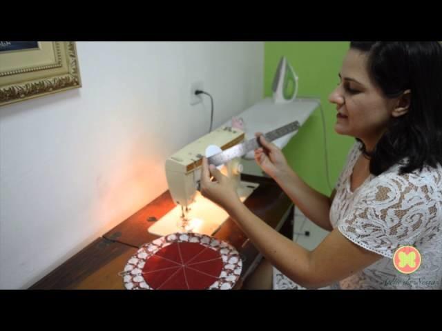 DIY: Porta biju | Tema de Natal - Por Vanessa Sacho