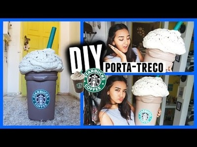 DIY: PORTA-TRECO COPO DO STARBUCKS