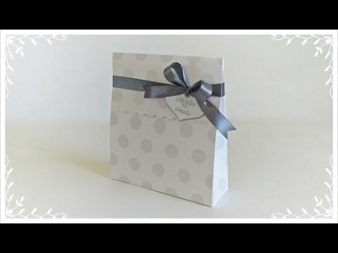 DIY | Tutorial - Embalagem para Presente - Gift Bag