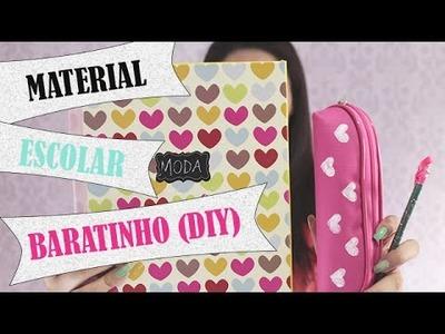 DIY: Volta às aulas - Customize seu material escolar SEM GASTAR MUITO