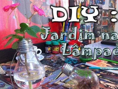Geek Office :: DIY :: Jardim na Lâmpada !!!
