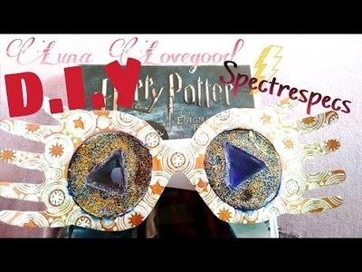 D.I.Y - Óculos da Luna Lovegood FUNCIONA ϟ | Spectrespecs glasses