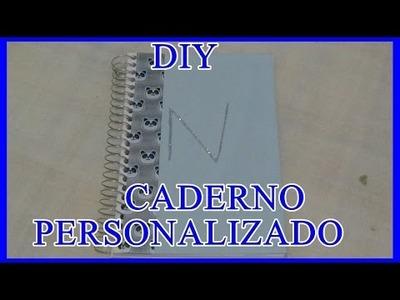 DIY - CADERNO PERSONALIZADO PARA SEU BONECO ( VERSÃO MASCULINA )