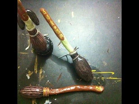 Diy: caneta da vassoura firebolt - harry potter