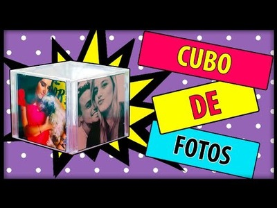DIY| CUBO DE FOTOS - RECICLANDO CAPA DE CD
