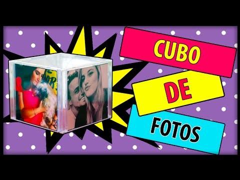 DIY| CUBO DE FOTOS - RECICLANDO CAPA DE CD