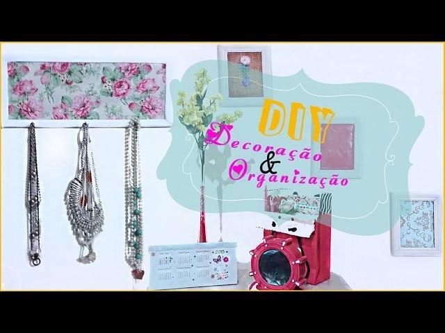 DIY - Decoração e Organização Quarto p. PRIMAVERA | Spring Room Decor | LetíciaDIY