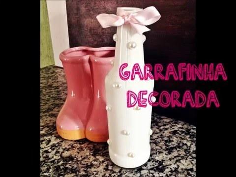 DIY | Garrafa Decorada - Festa Infantil