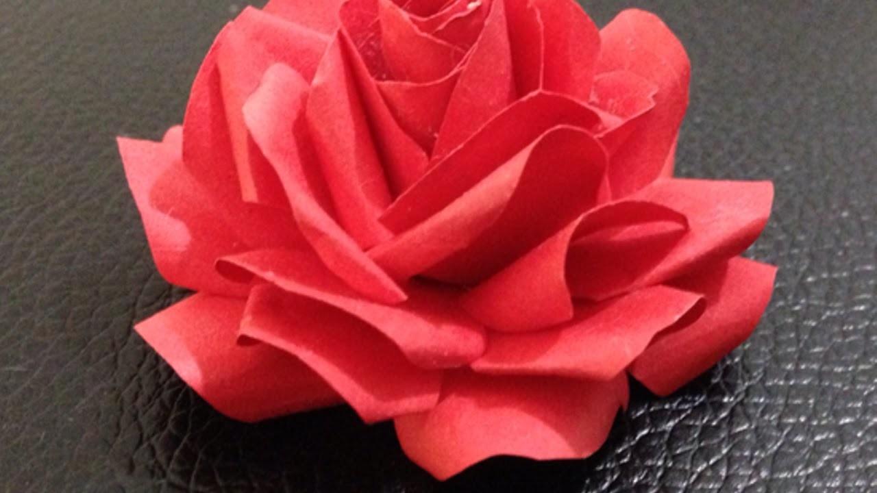 Faça Uma Adorável Rosa de Papel - Faça Você Mesmo Artesanato - Guidecentral