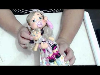 DIY Bebezinha de biscuit
