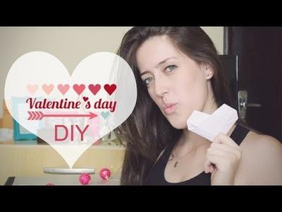 DIY - Dia dos Namorados - Valentine's day - carta coração