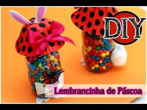 DIY: Lembrancinha de Páscoa | Coelho com Garrafa | Dicas de Páscoa