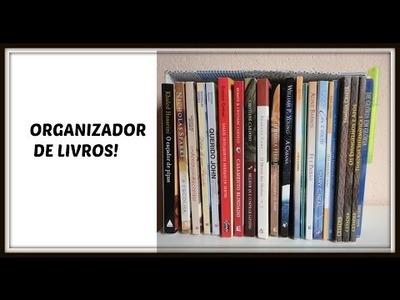 Diy -  organizador de livros