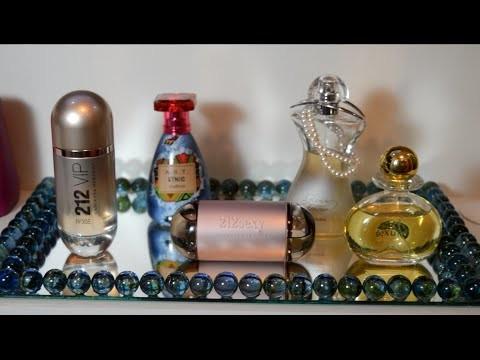 DIY- Bandeja de espelho com bolas de gude para colocar perfumes- Fácil