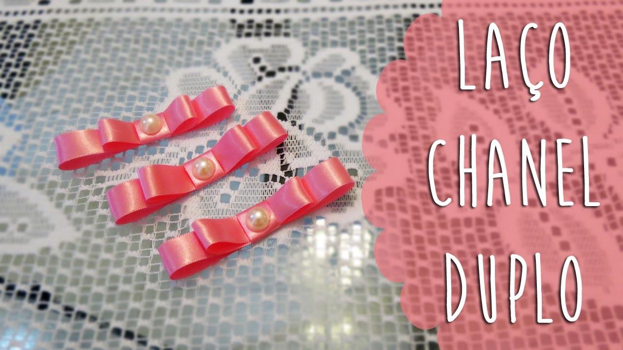 DIY | Como Fazer Laço Chanel Duplo | Faça Você Mesmo