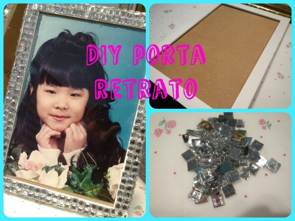 DIY Faça você mesmo Customizando Porta retrato