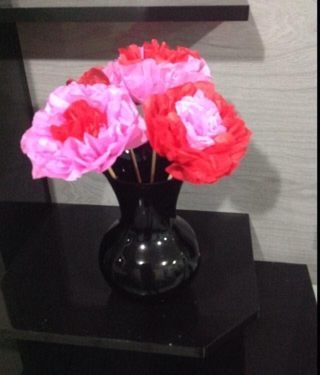 DIY - Flor Decorativa