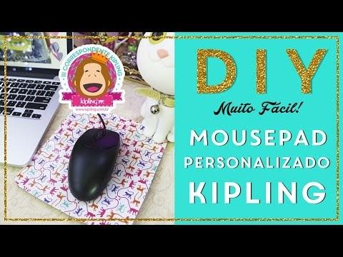 DIY: Mousepad Personalizado do seu jeito!