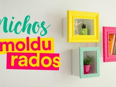 DIY - Nichos Emoldurados
