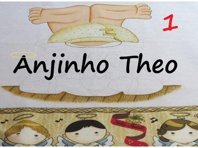 Pintando um Anjinho! projeto novo - ANJINHO THEO! parte 1