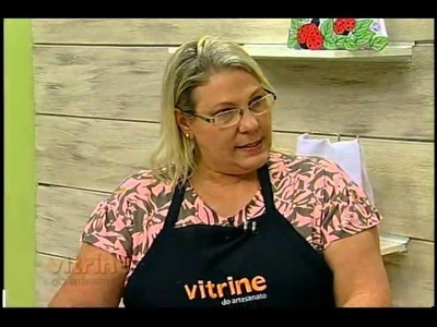 Pintura de flores com Márcia Caires - Vitrine do Artesanato na TV