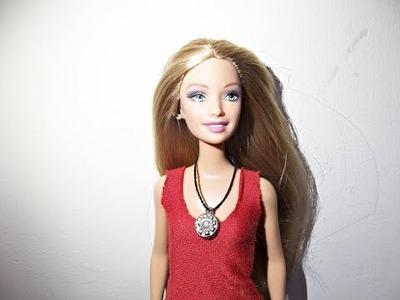 Tutorial: Como fazer colares para Barbie - DIY super fácil