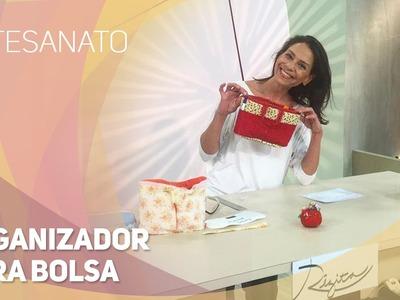 Artesanato - Organizador para bolsa (01.09.2015)
