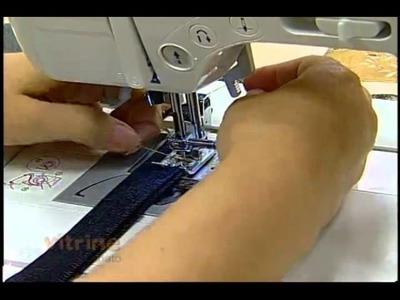 Bolsa com retalhos jeans com Lídia Reis - Vitrine do Artesanato na TV