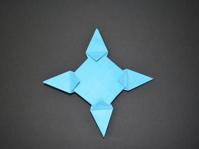 Como hacer una estrella ninja de papel – Shuriken de Papel - Estrella Ninja