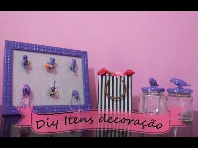 DIY decoração para quartos (room decor)