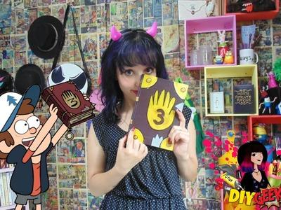 DIY - Diário 3 de Gravity Falls (Especial Volta às Aulas)
