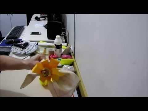 DIY - Flor Porta Guardanapo Para Eventos