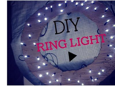 DIY:Iluminação Ring Light caseira. para fotos e vídeos.Letty-Tube