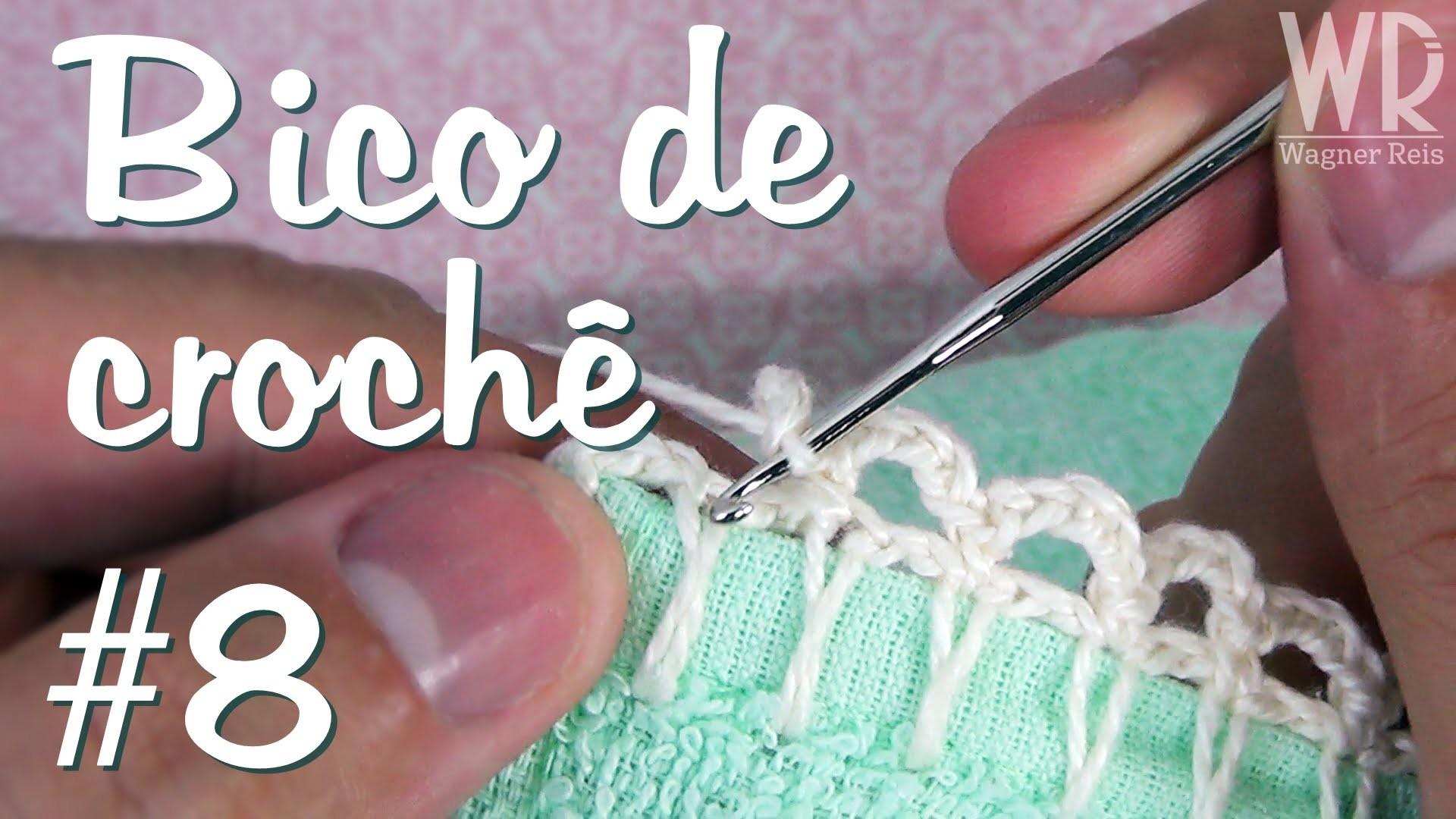 Bico de crochê MEGA fácil e simples para fralda #8
