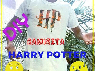 D.I.Y:: Camiseta Harry Potter. ✂
