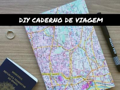 DIY CADERNO DE VIAGEM PERSONALIZADO