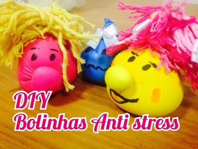 DIY: Como fazer Bolinhas Anti Stress | Lívia Limongi